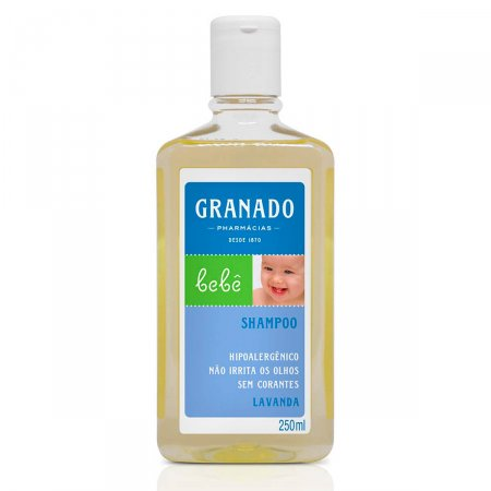 Shampoo Bebê Lavanda Granado