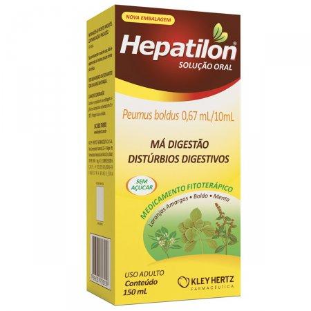 Hepatilon Solução Oral com 150ml