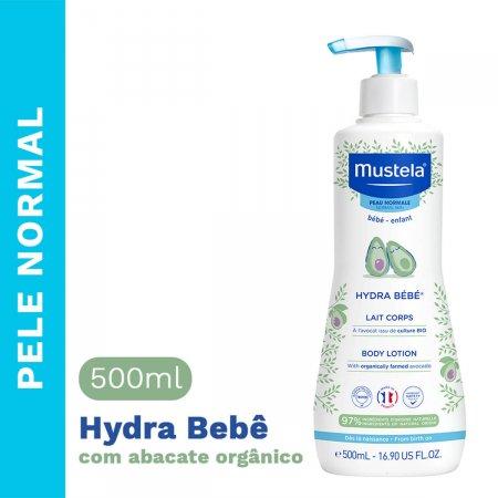 Hidratante Corporal Infantil Mustela Hydra Bebê com 500ml