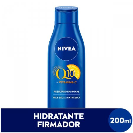 Hidratante Corporal Nivea Firmador Q10 + Vitamina C Pele Seca com 200ml