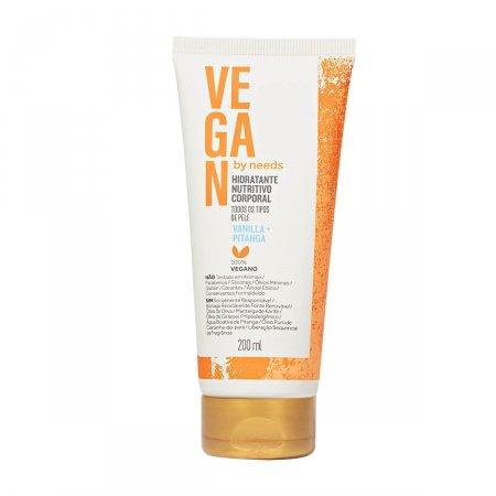 Hidratante Corporal Vegan by Needs Vanilla + Pitanga 200ml |