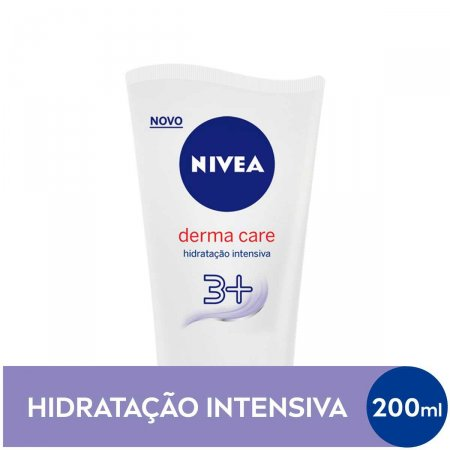 Hidratante Desodorante Nivea Derma Care Hidratação Intensiva com 200ml