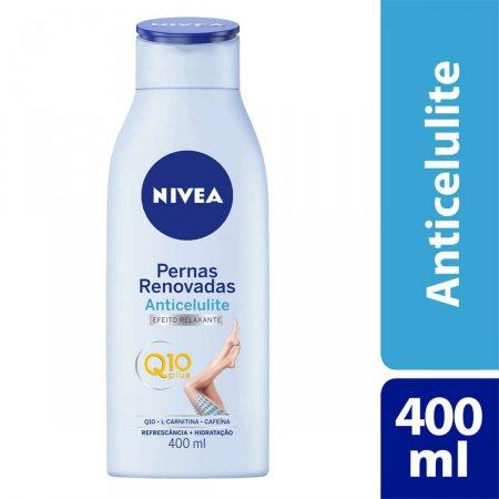Hidratante Anticelulite Nivea Pernas Renovadas Q10 Plus com 400ml
