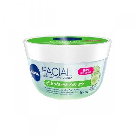 Hidratante em Gel Nivea Facial 100ml |