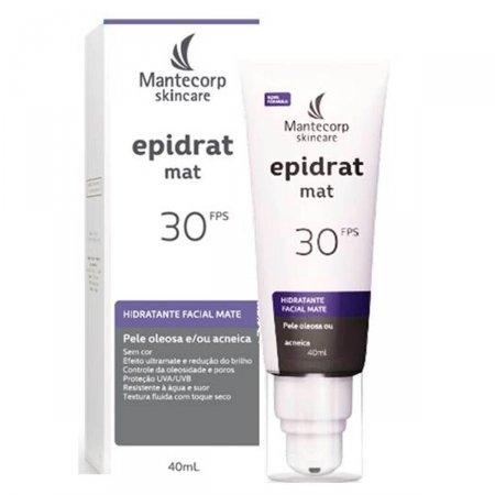 Hidratante Facial Mate Epidrat Mat sem Cor FPS30 40ml  