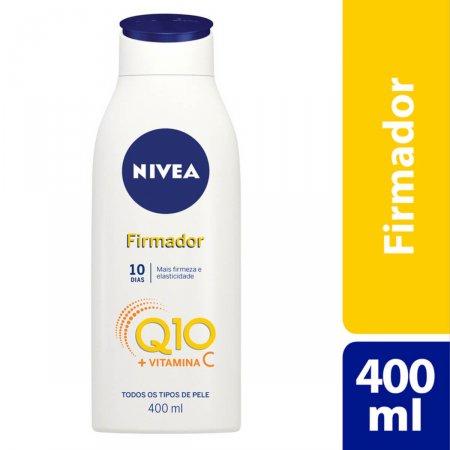 Hidratante Nivea Firmador Q10 + Vitamina C com 400ml
