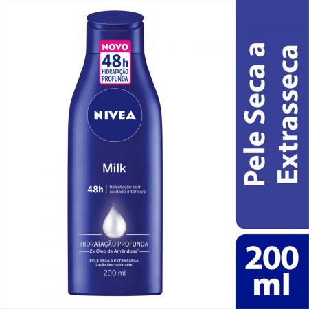 Hidratante Desodorante Nivea Milk Pele Seca a Extrasseca