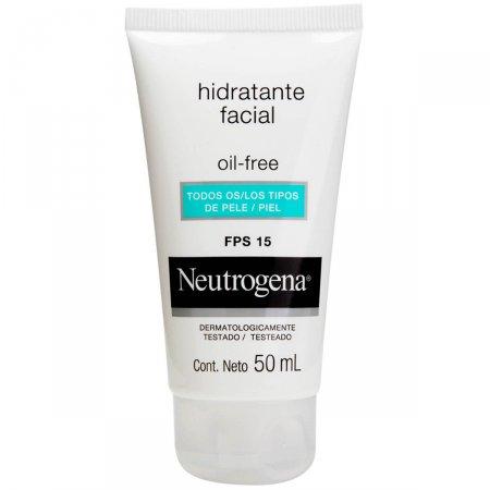 Hidratante Facial Neutrogena Oil Free FPS15