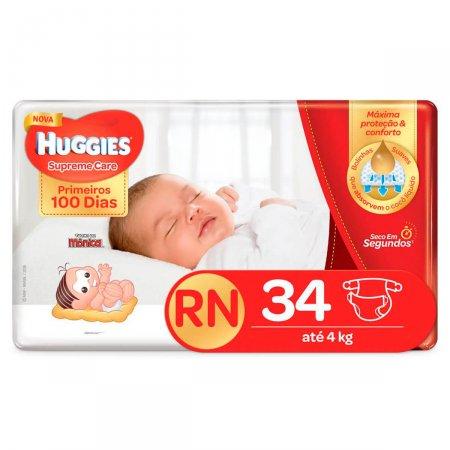 Fralda Huggies Supreme Care Recém Nascido