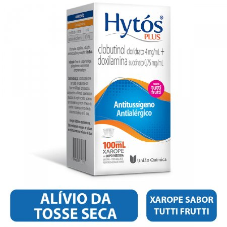 Hytós Plus Xarope com 100ml