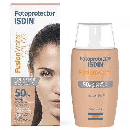 Protetor Solar Facial Isdin Fotoultra Fusion Water Color FPS64