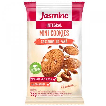 Mini Cookies Jasmine Integral Castanha do Pará
