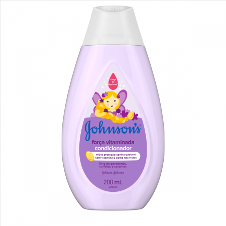 Condicionador Johnson's Baby Força Vitaminada