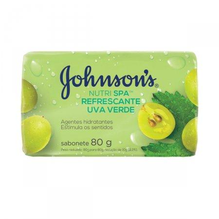 Sabonete em Barra Johnson's Uva Verde