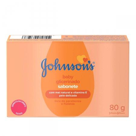 Sabonete em Barra Johnson's Baby Glicerinado