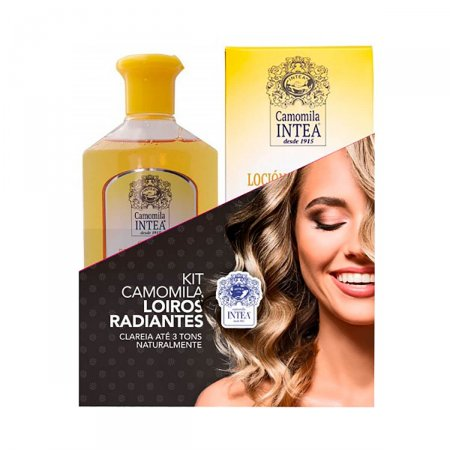 Kit Shampoo + Loção Clareadora Intea Loiro Natural