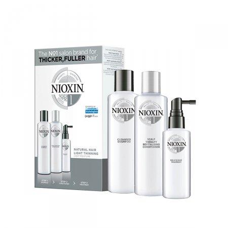 Kit Nioxin Sistema 1 Shampoo + Condicionador + Leave-In