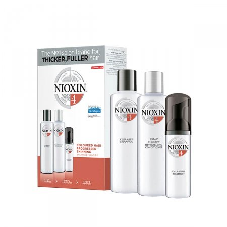 Kit Nioxin Sistema 4 Shampoo + Condicionador + Leave-In