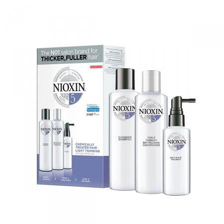 Kit Nioxin Sistema 5 Shampoo + Condicionador + Leave-In