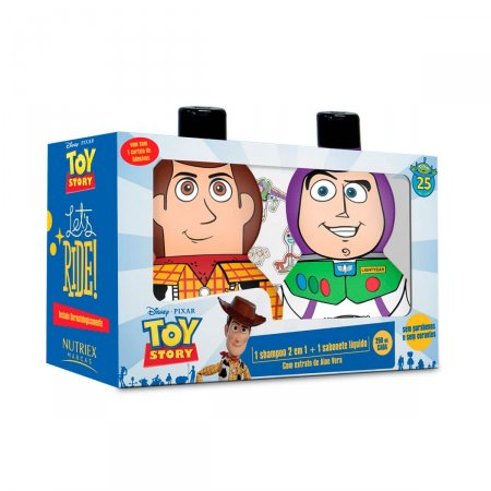 Kit Nutriex Toy Story Shampoo 2 em 1 + Sabonete Líquido