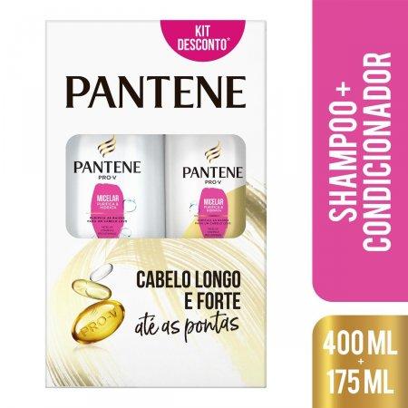 Kit Shampoo com 400ml + Condicionador com 175ml Pantene Micelar | Foto 2
