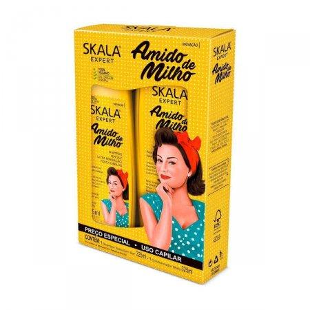 Kit Shampoo + Condicionador Skala Amido de Milho