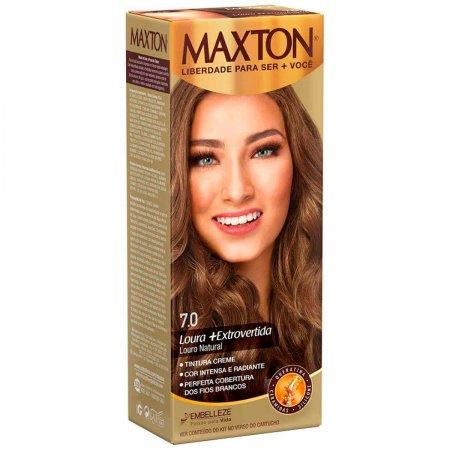 Kit Coloração Maxton Louro Natural 7.0