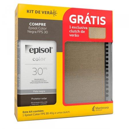 Kit Protetor Solar Episol Color Negra FPS30