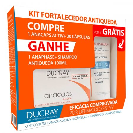 Kit Ducray Fortalecedor Antiqueda