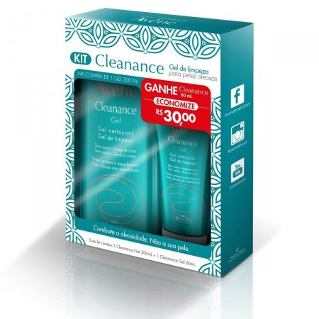 Kit Gel de Limpeza Avène Cleanance
