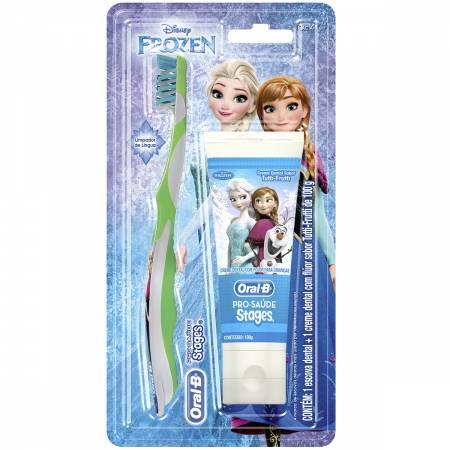 Kit Infantil Oral B Stages Frozen