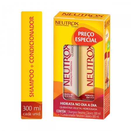 Kit Neutrox Shampoo + Condicionador Clássico