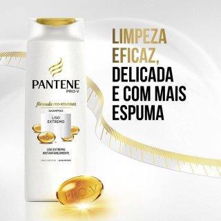 ff164e5b9d4fd Shampoo 400ml + Condicionador 175ml Pantene Liso Extremo 1 Unidade ...