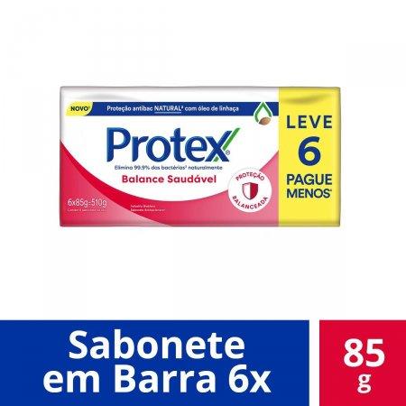 Kit Sabonete em Barra Protex Balance Saudável com 6 Unidades