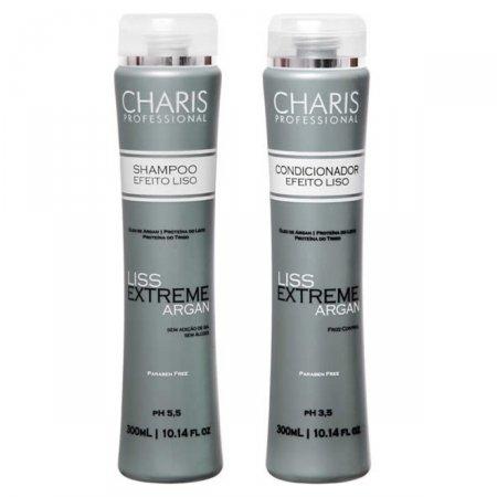 Kit Shampoo + Condicionador Charis Liss Extreme