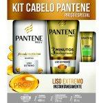 Kit Shampoo Pantene Liso Extremo + Condicionador 3 Minutos Milagrosos 1 Unidade