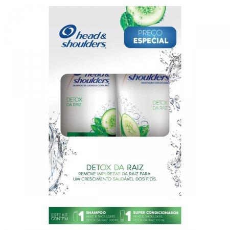Kit Shampoo + Super Condicionador Head & Shoulders Detox da Raiz
