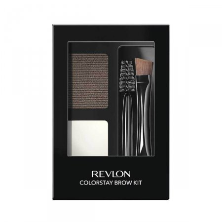 Kit Sombra para Sobrancelhas Revlon Dark Brown