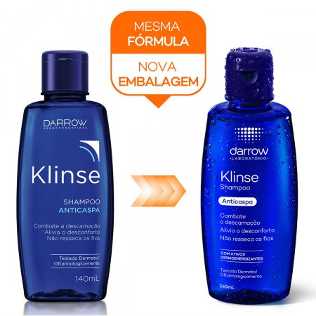 Shampoo Anticaspa Klinse