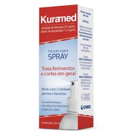 Solução Tópica Spray Kuramed