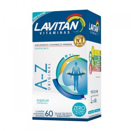 Suplemento Vitamínico-Mineral Lavitan A-Z Original com 60 comprimidos