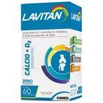 Lavitan Cálcio + D3 60 Comprimidos Revestidos