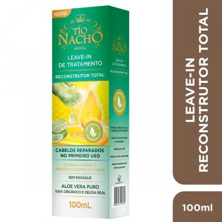 Leave-In de Tratamento Tio Nacho Reconstrutor Total com 100ml   Foto 2