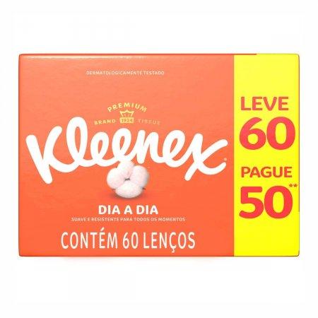 Lenço de Papel Kleenex com 60 Unidades   Foto 1