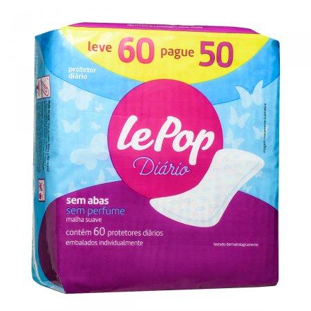 Protetor Diário Lepop Sem Perfume