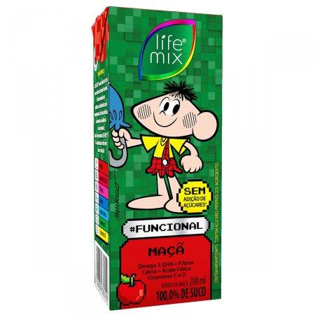 Bebida Funcional Life Mix Kids Sabor Maça