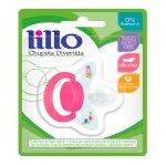 Chupeta de Silicone Lillo Dive... Chupeta de Silicone Lillo Divertida Tamanho 2 Cor Rosa