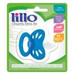 Chupeta de Silicone Lillo Extr... Chupeta de Silicone Lillo Extra Air Azul