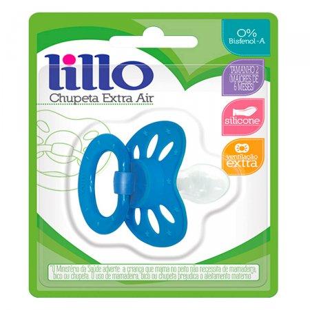 Chupeta de Silicone Lillo Extra Air Azul