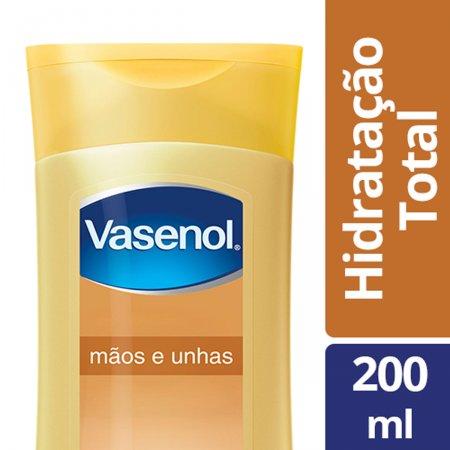 Loção Hidratação Total Vasenol Nutrição Mãos e Unhas